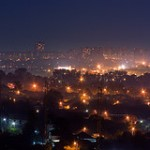 Night over Kharkiv